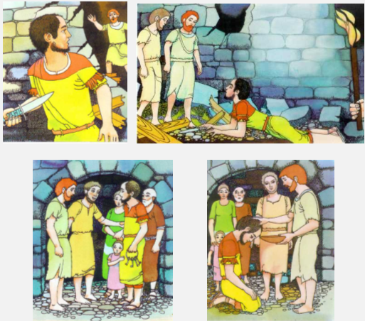 the philippian jailer coloring pages - photo#28