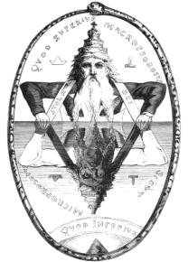 Eliphas Levi's Great Symbol of Solomon