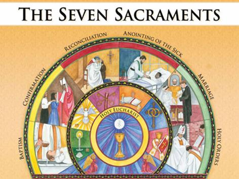 the 7 sacraments Explore tracy reed's board 7 sacraments on pinterest | see more ideas about 7 sacraments, catholic children and first communion.