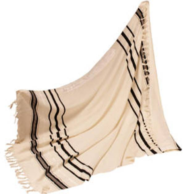 how to choose a size of tallit
